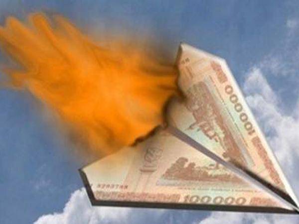 Рубль вошёл в штопор