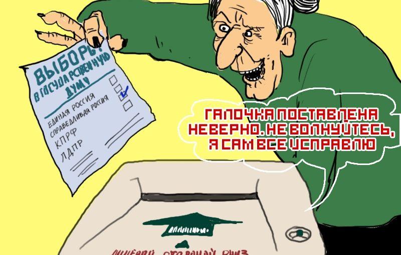 Фальсификация результатов выборов техническими средствами подсчета голосов (КОИБ).