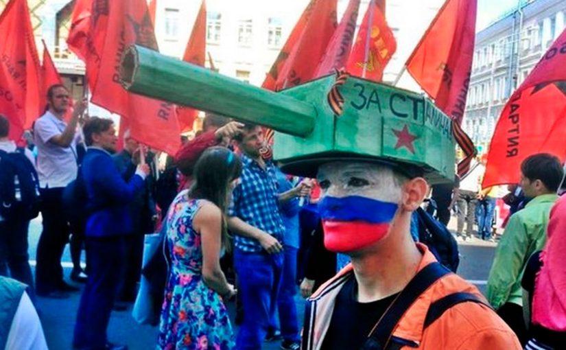 Пропагандурь, или военная пропаганда в РФ