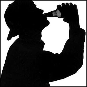 Красный великан. Горькая ирония пьянства и русский патриотизм.